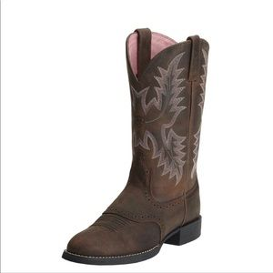 Ariat Heritage Stockman Western Embroidered Boot